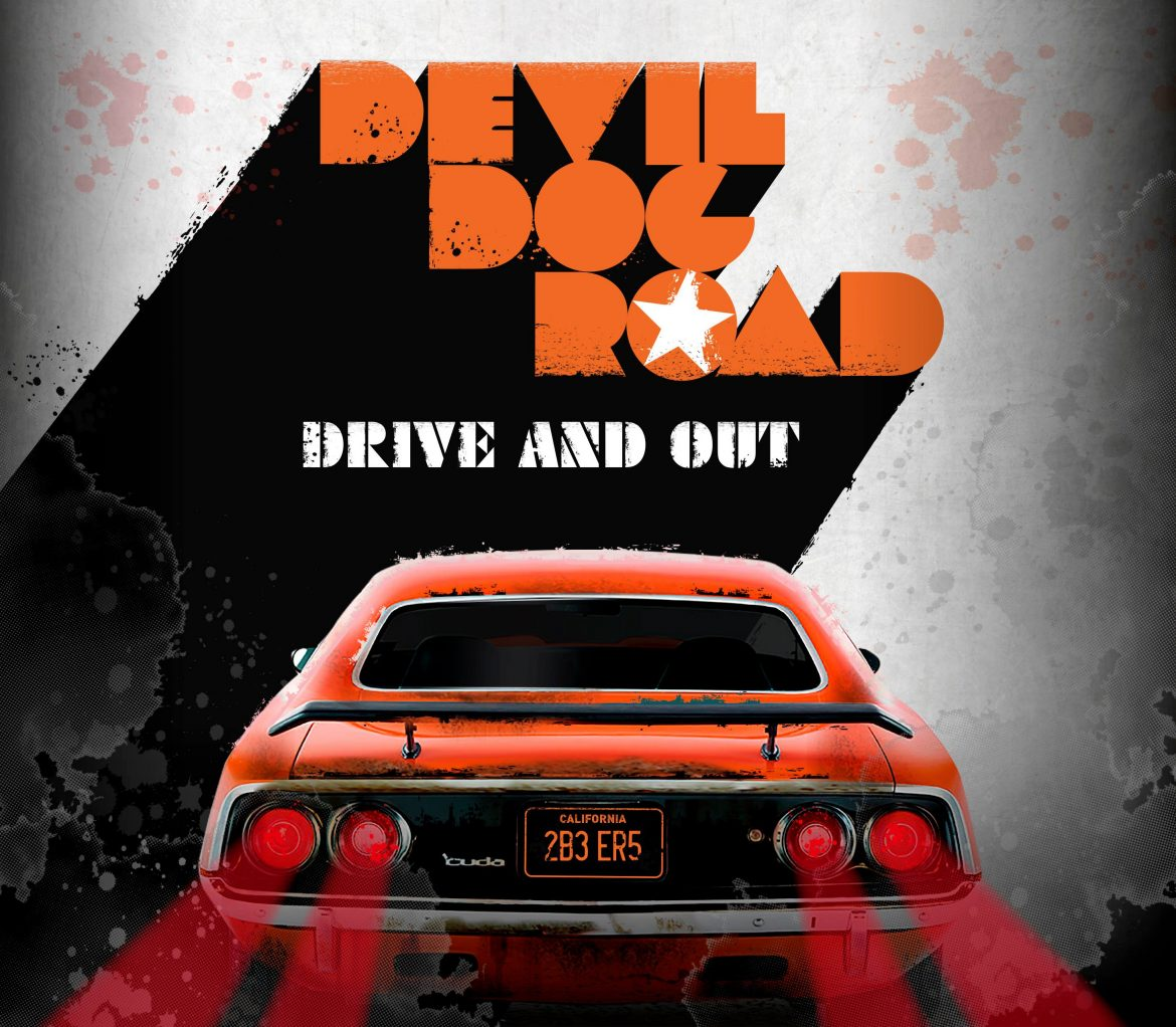 Devil Dog Road - Drive And Out - album cover Artwork: Petri Rotsten